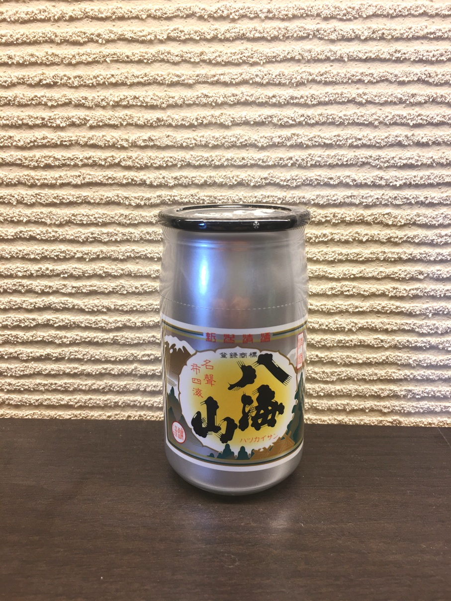清酒 八海山カップ酒 180ml×30本(ケース販売)